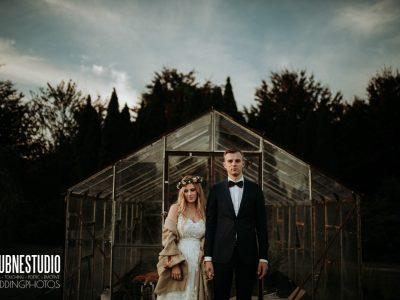 Marta&Mateusz - plener w Powsinie